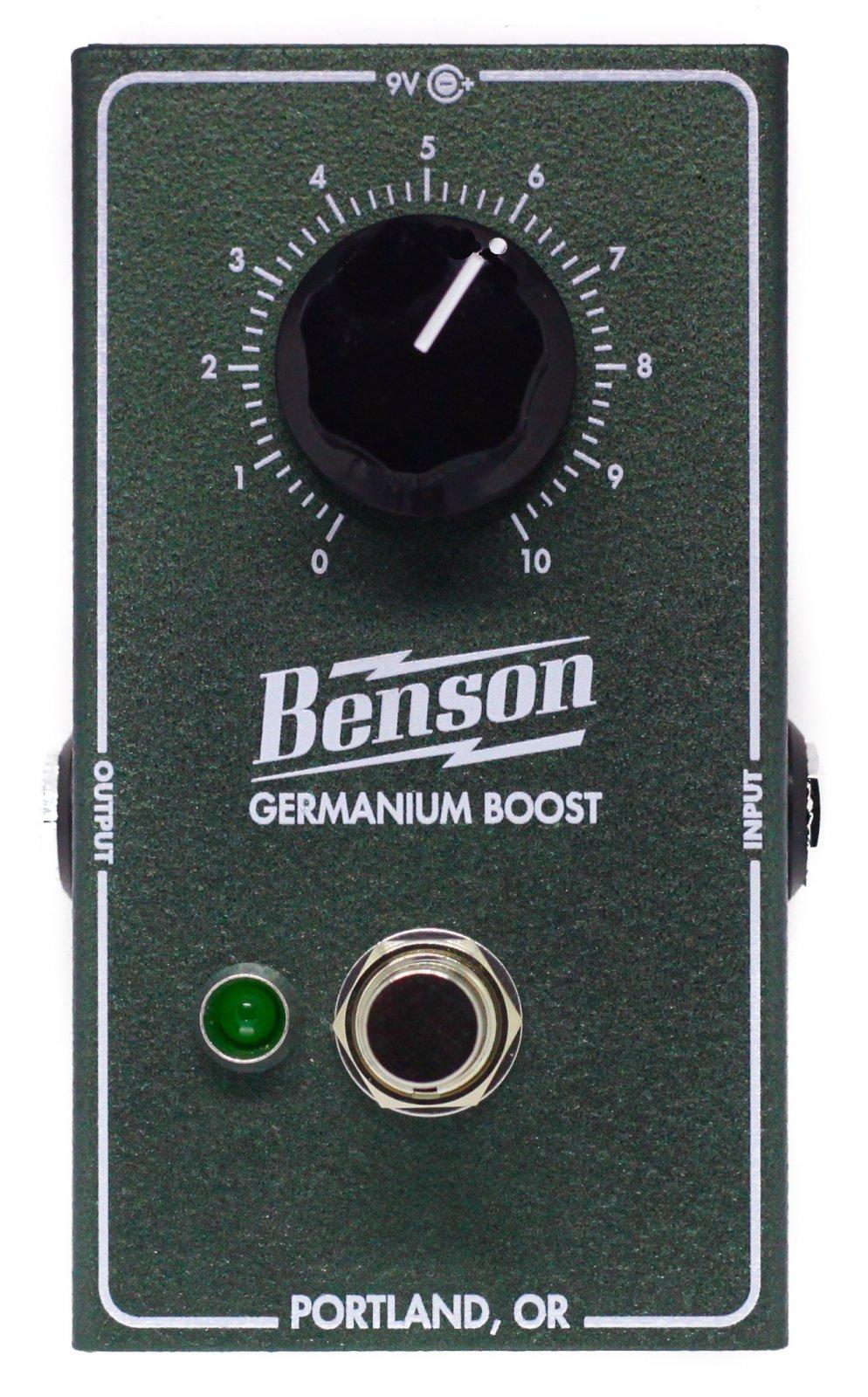 Benson Germanium Boost Pedal