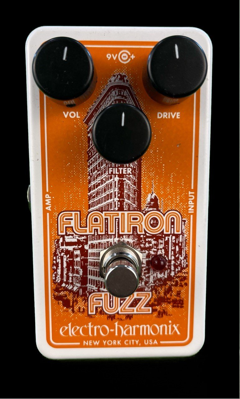 EHX Flat Iron Fuzz Pedal in Very Good Condition