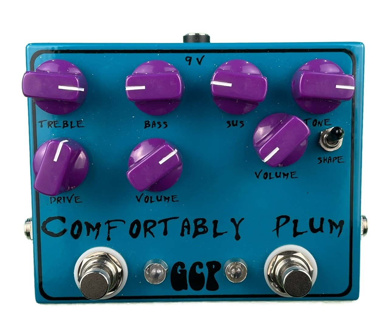 Green Carrot Pedals Comfortably Plum Pedal in Excellent Condition