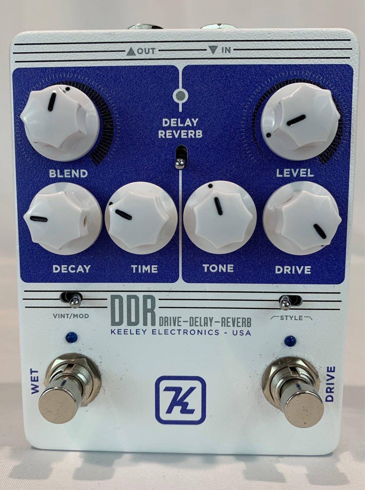 Used Keeley DDR LTD Edition Pedal