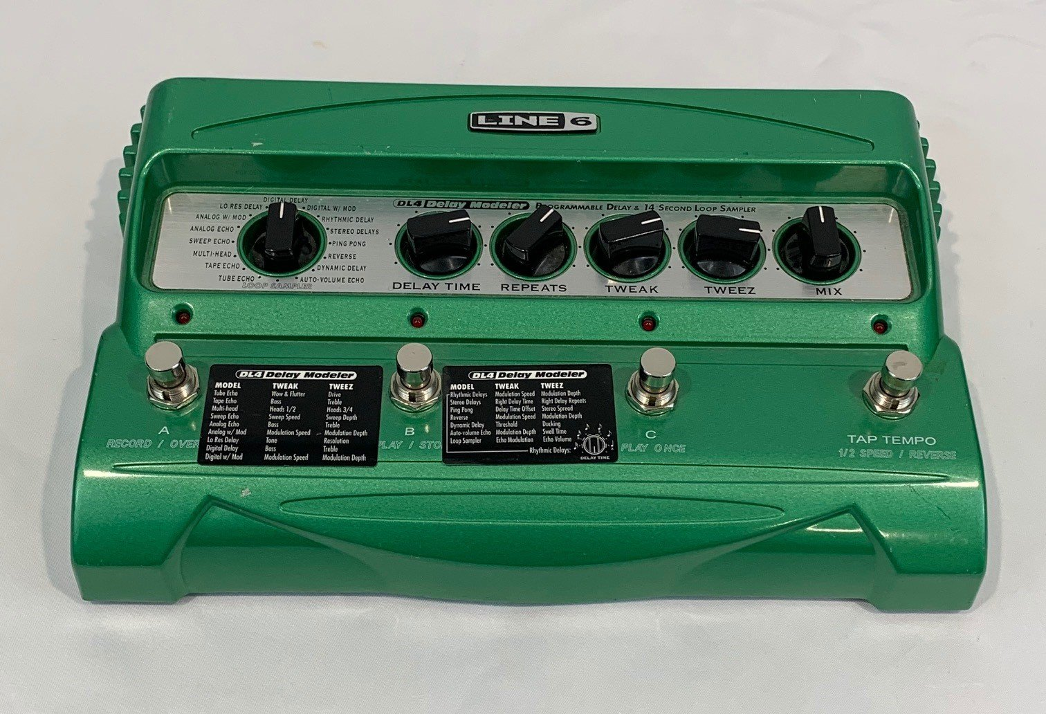 Used Line 6 DL4 Delay Pedal