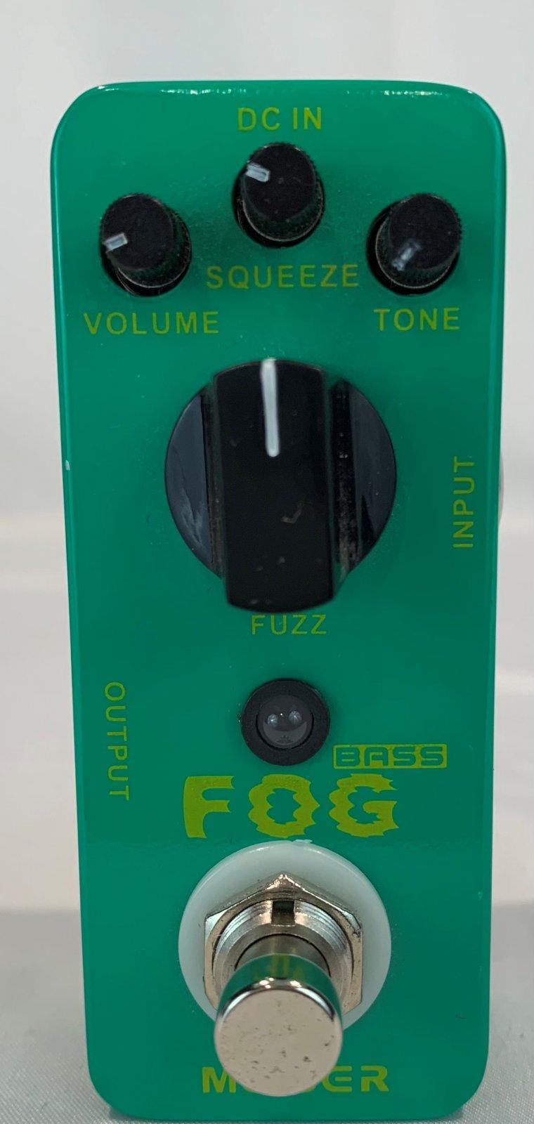 Used Mooer Fog Bass Fuzz Pedal