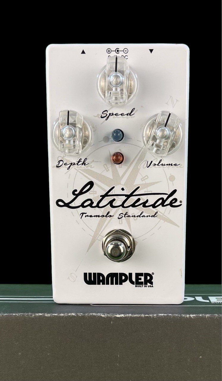 Wampler Latitude Tremelo Pedal in Very Good Condition