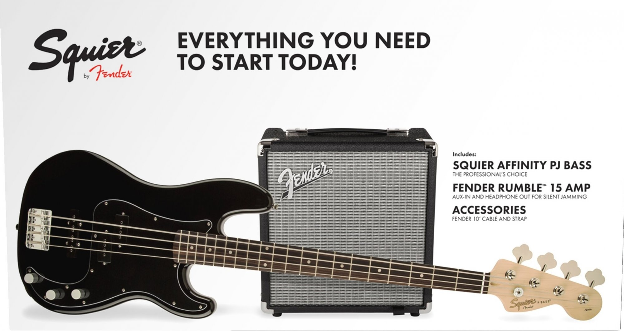 PJ Bass Pack  Black  R15V3