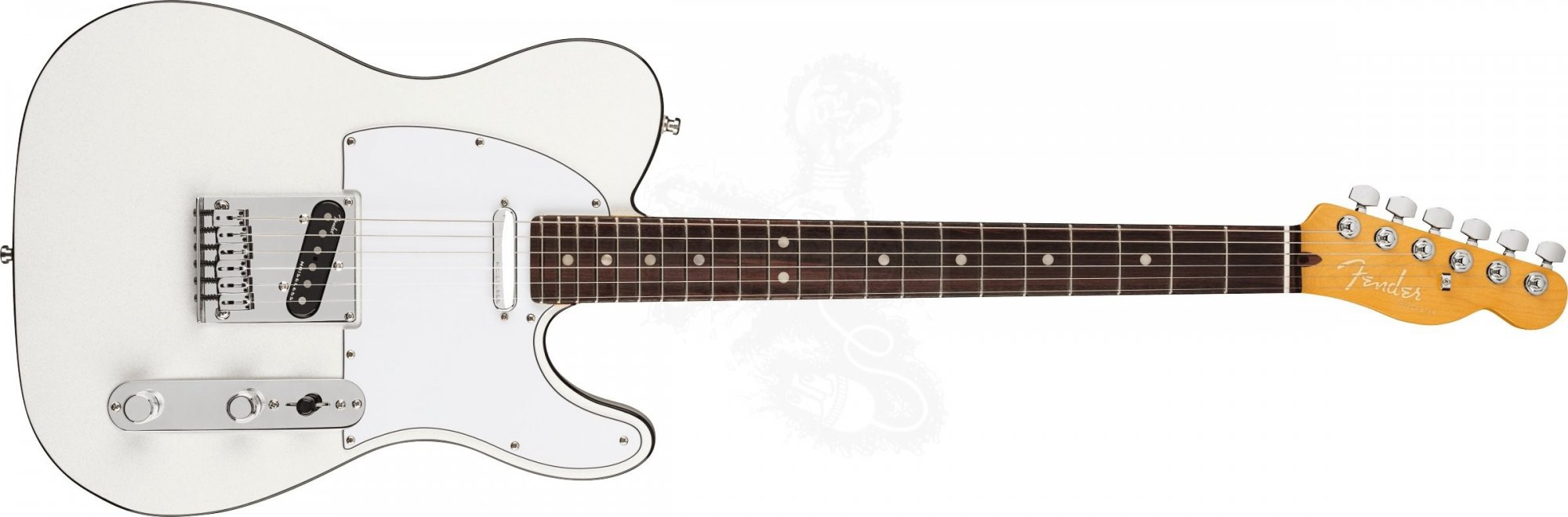 Fender American  Ultra Telecaster  Arctic Pearl with Rosewood Fingerboard