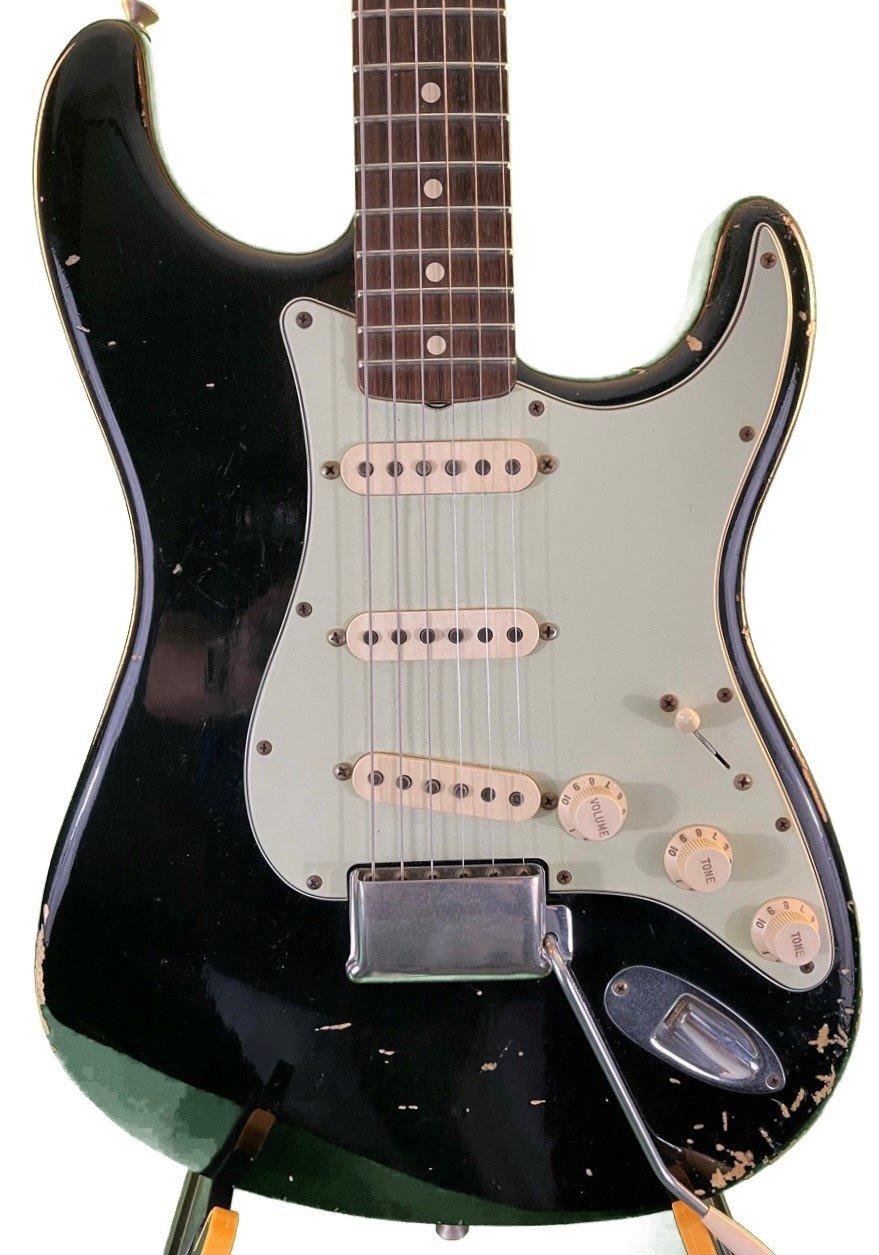 Used Fender 1964 Reliced  Custom Shop Stratocaster in Black