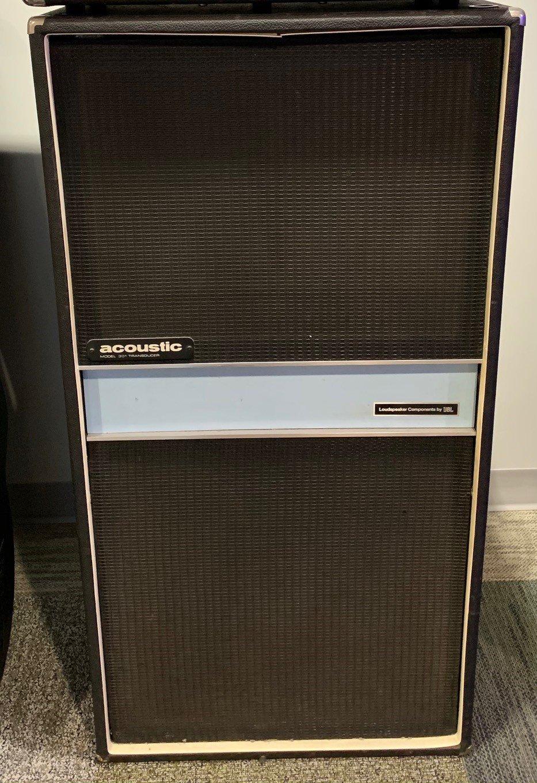 Acoustic 301 Bass Cabinet Single 18 Speaker