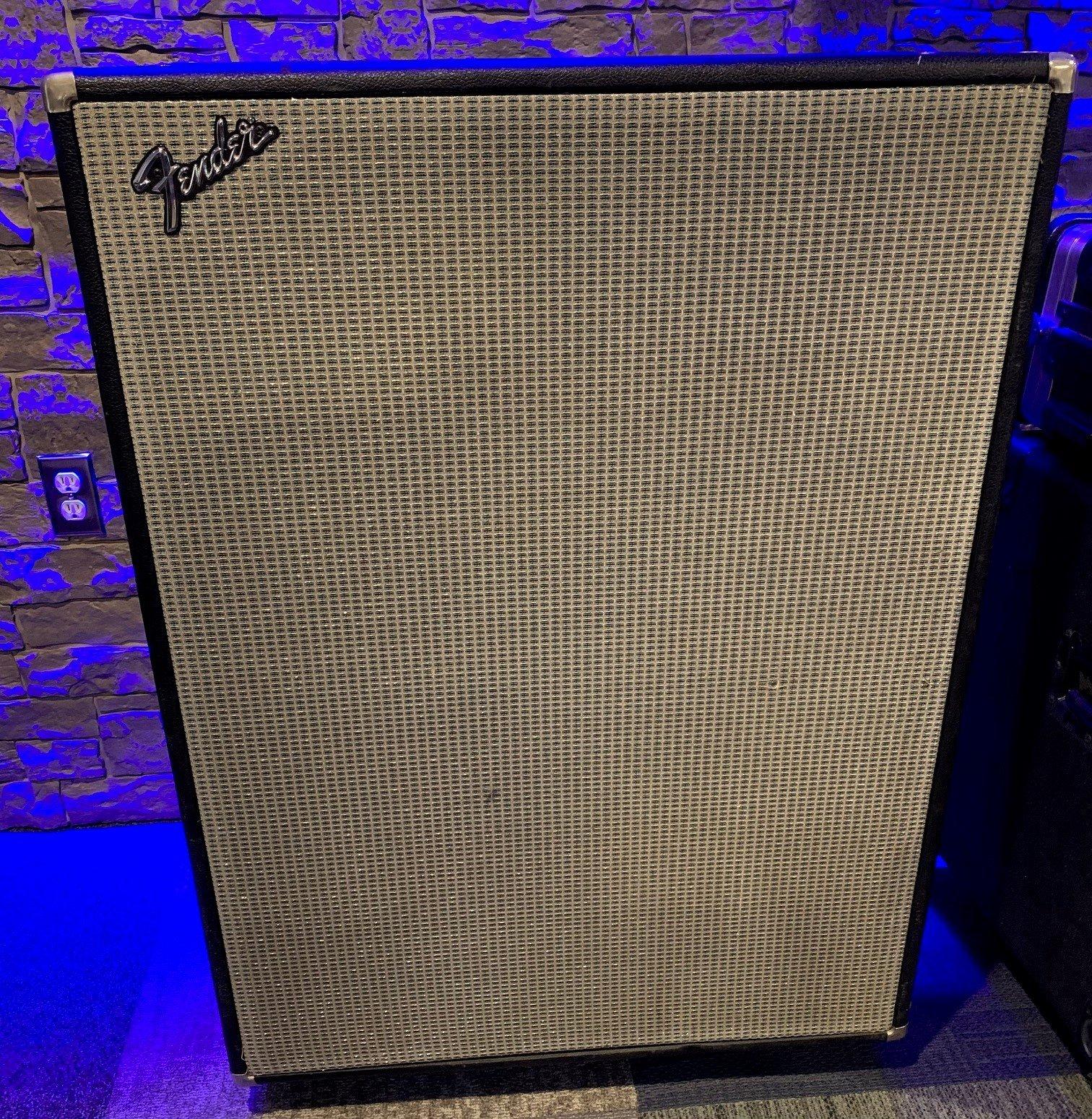 Fender Bassman 100 4x12 Silverface Bass Cabinet