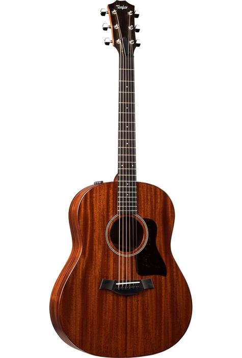 Taylor AD27e Tropical Mohogany Back and Sides and Top with deluxe bag