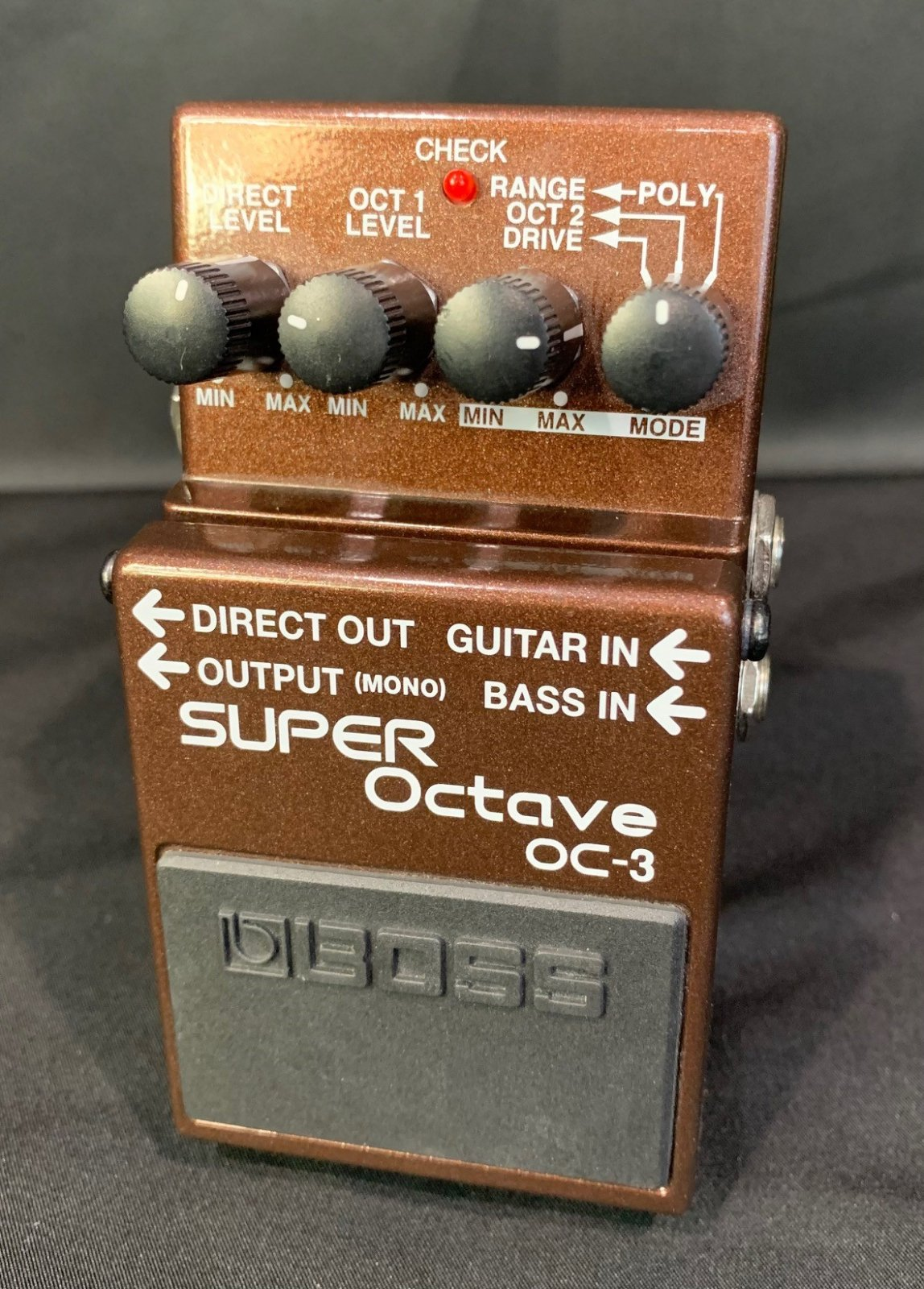 Used Boss OC-3 Super Octave Pedal