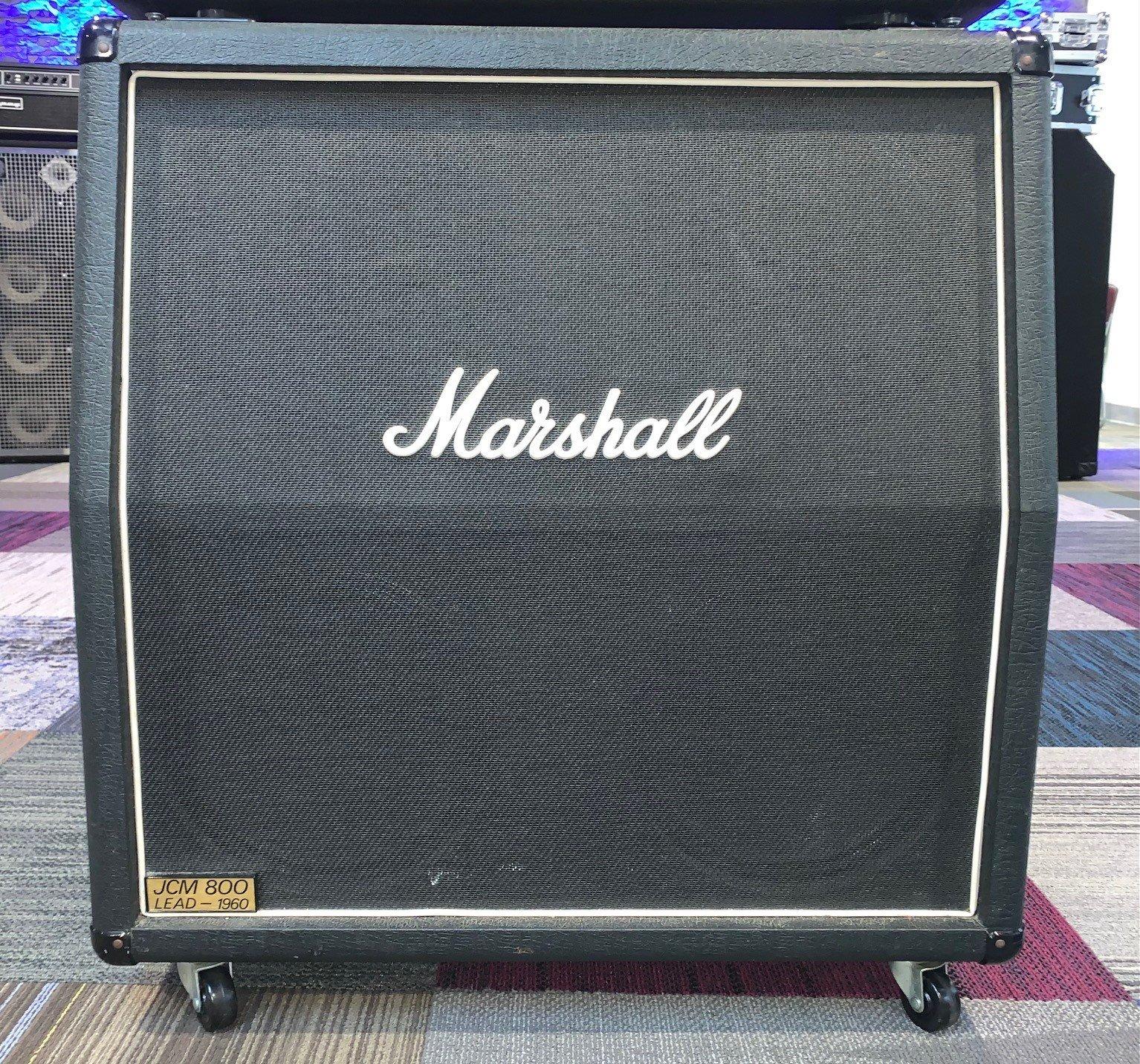 Used Marshall 1960A JCM800  Angled 4x12 Speaker Cabinet