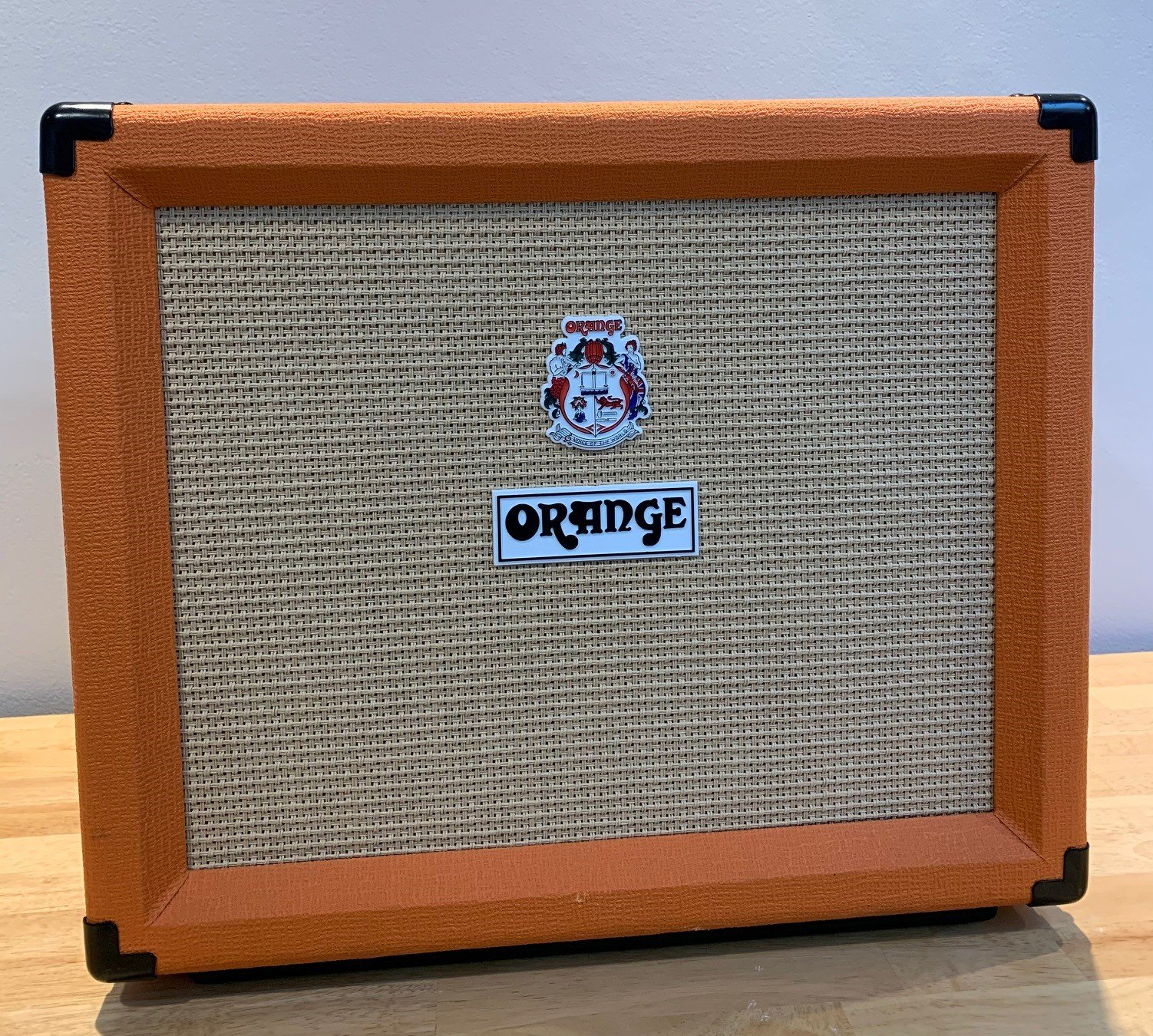 Used Orange Rocker 15 Guitar Amplifier with Footswitch