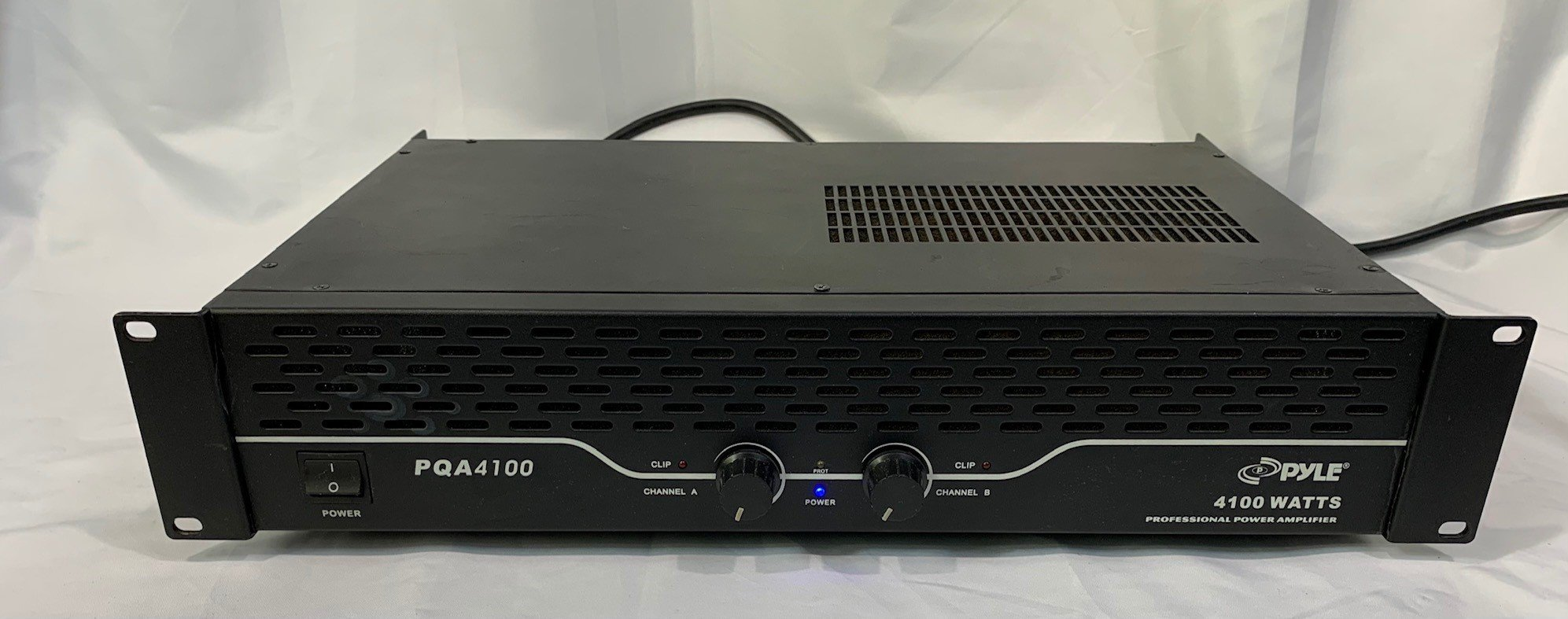 Used Pyle PQA4100 Stereo Power Amplifier