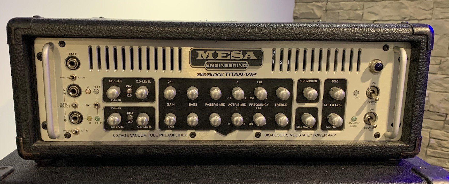 Used Mesa Boogie Big Block Titan V12 Head