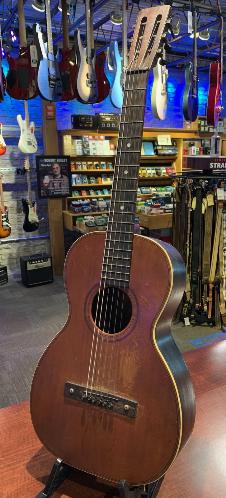 Used Columbia Parlor Guitar offered by Third Rock Music Center