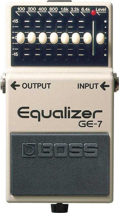 GE-7 Graphic Equilizer Pedal