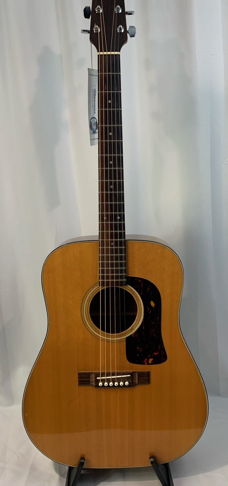 Used Washburn D-15N Acoustic Guitar with Bag