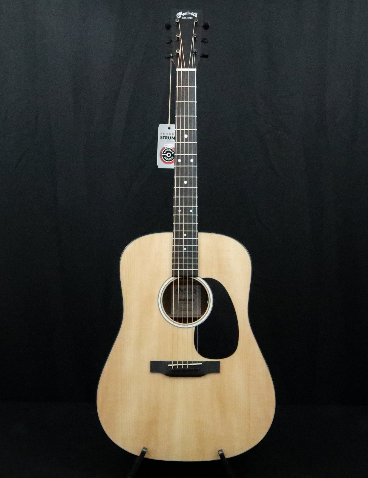 Martin D12E-01 w bag  Road Series