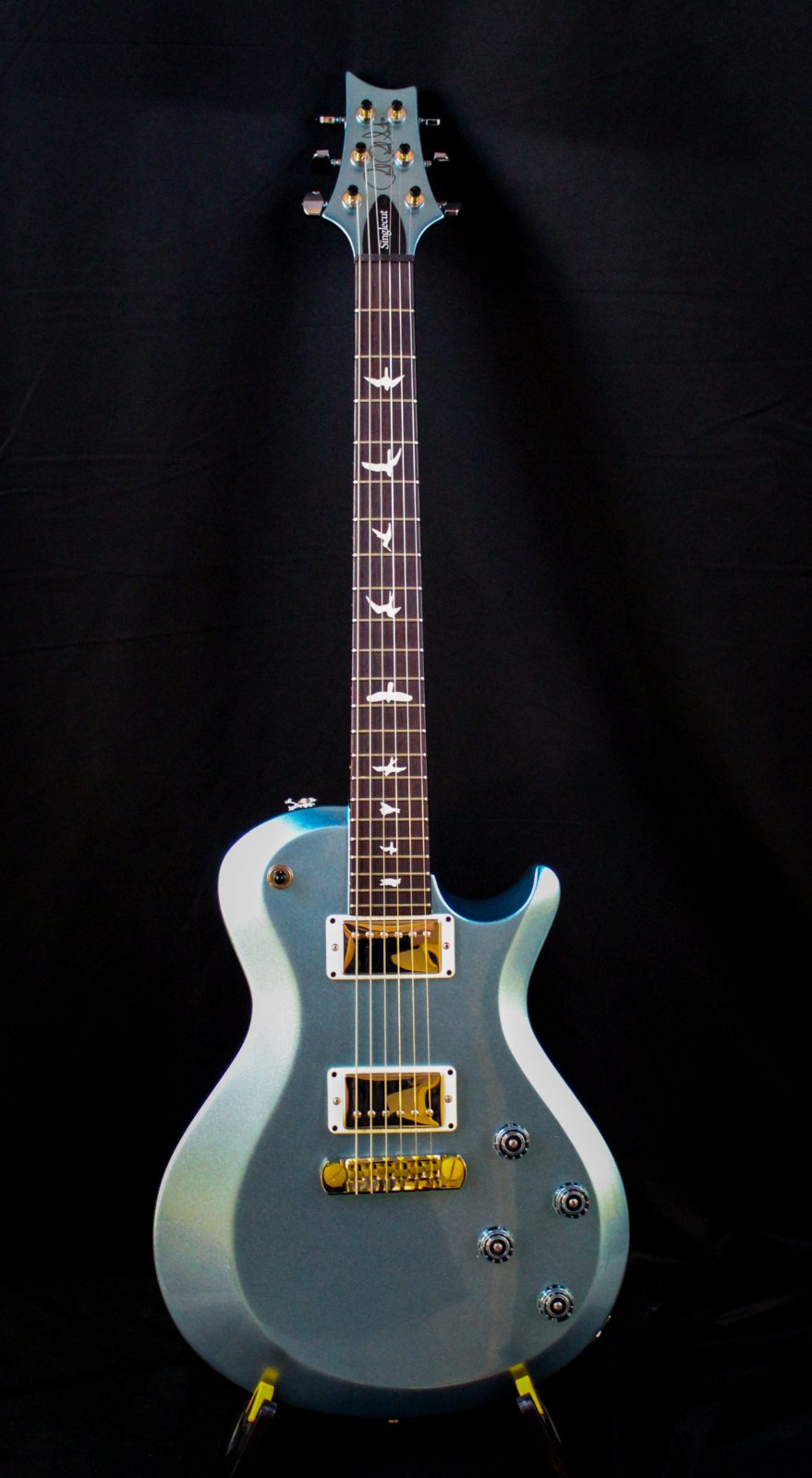 S2 Single Cut Custom Blue