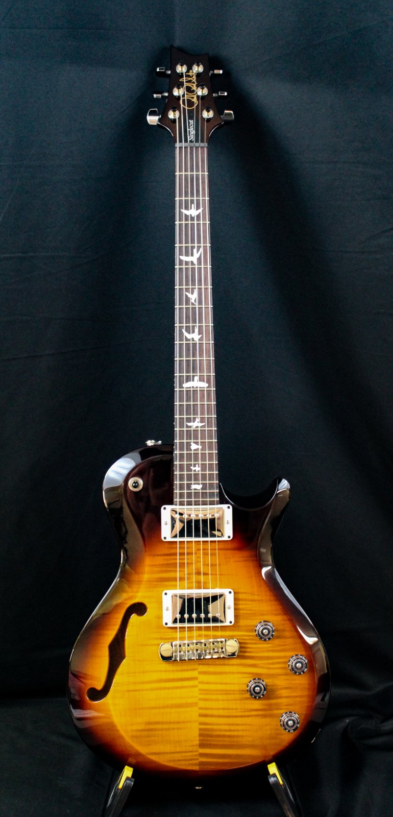S2 Singlecut Semi Hollow Tiger Eye