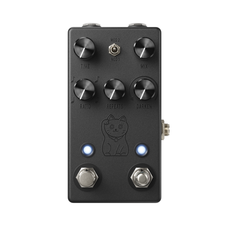 JHS Lucky Cat Delay Pedal - Black