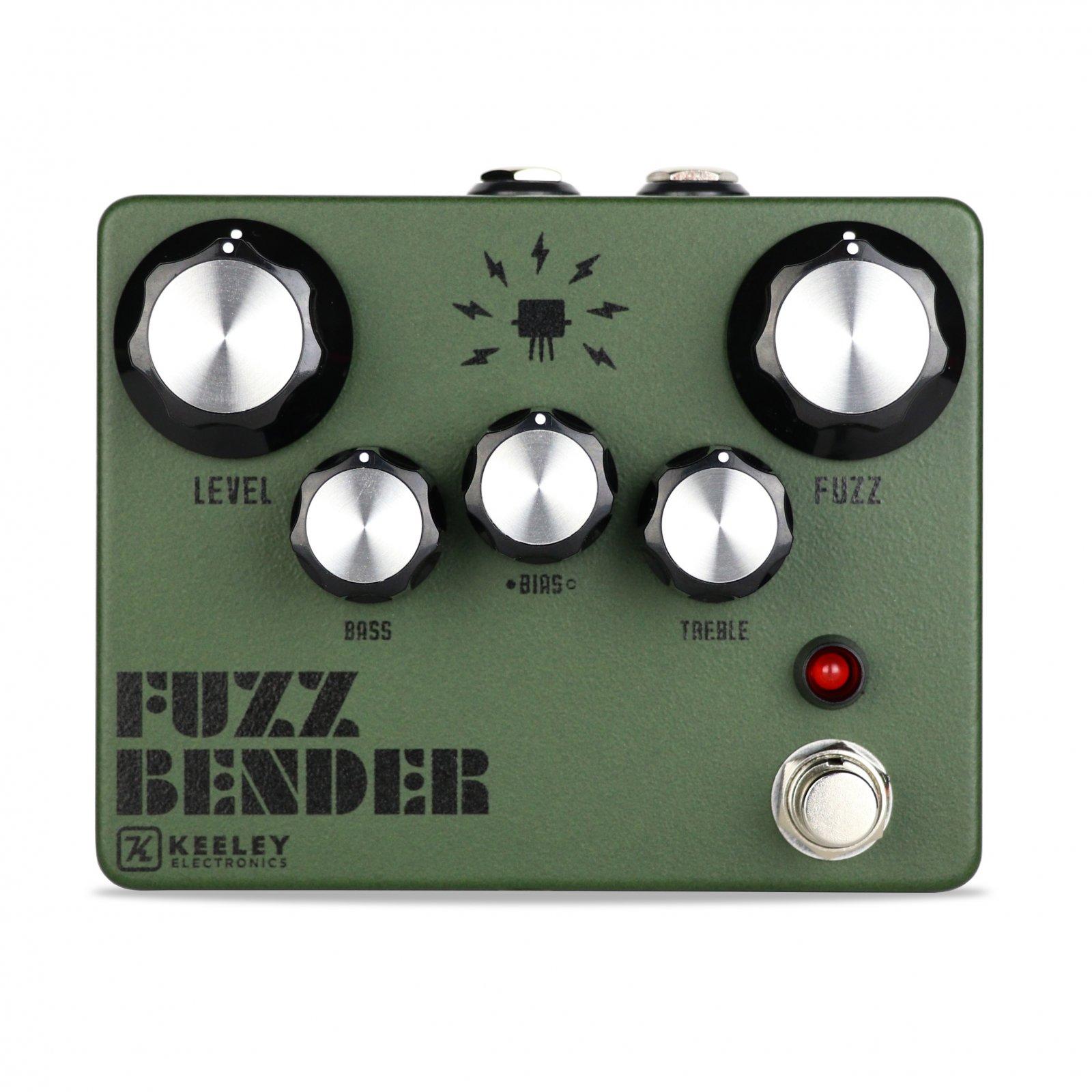 Keeley Fuzz Bender Army Green