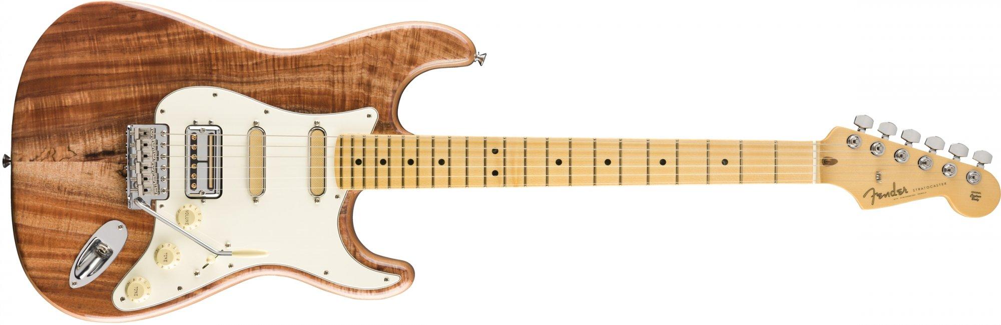 Fender Rarities Stratocaster Flame Koa Top Maple