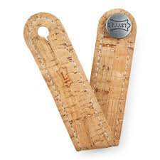 Natural Leather Headstock Strap   Levy's