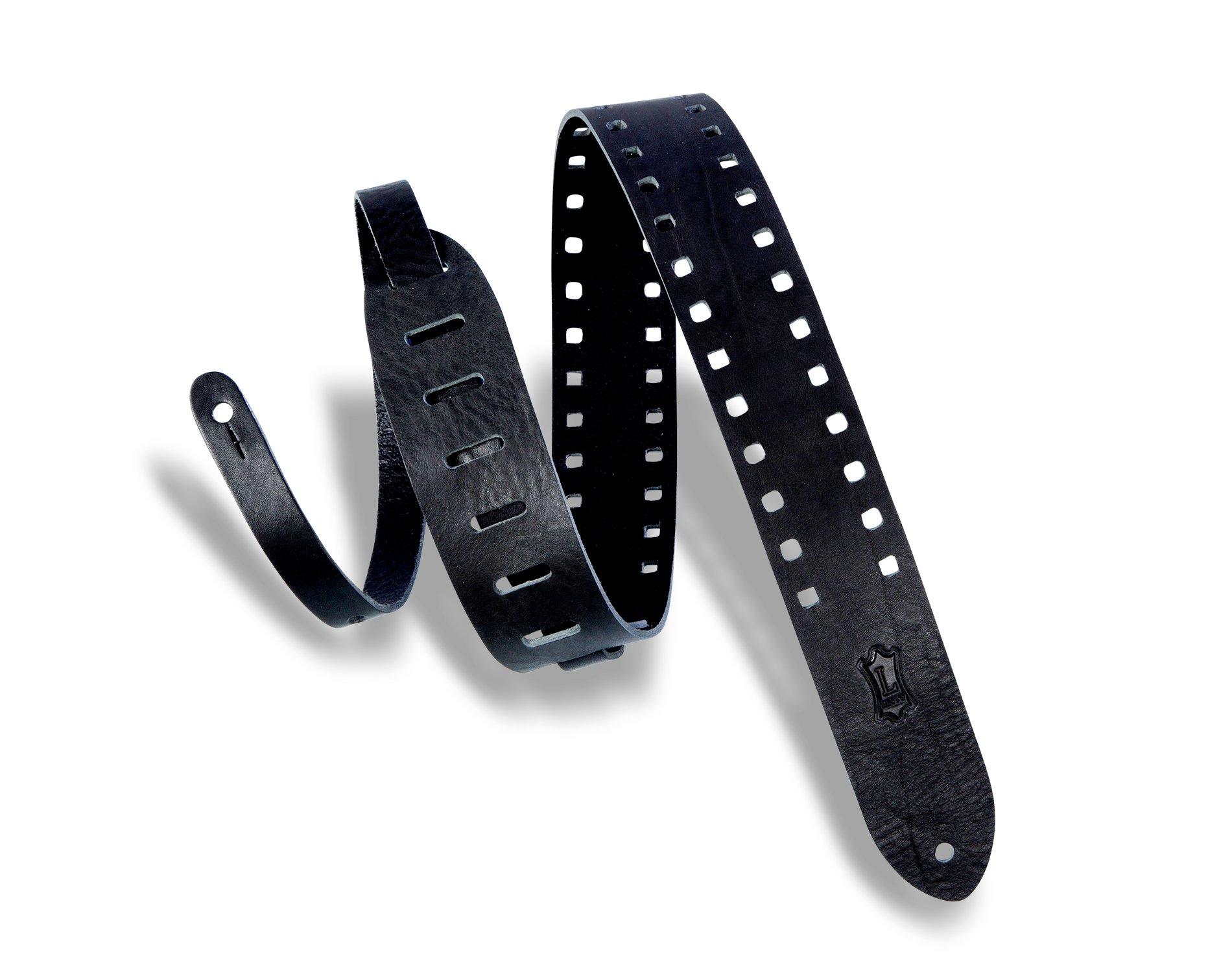 2 in. Veg-Tan strap w/ decorative square cutouts