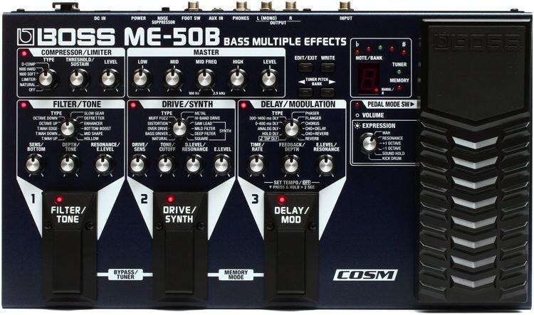 ME-50B Bass Multi FX Pedal