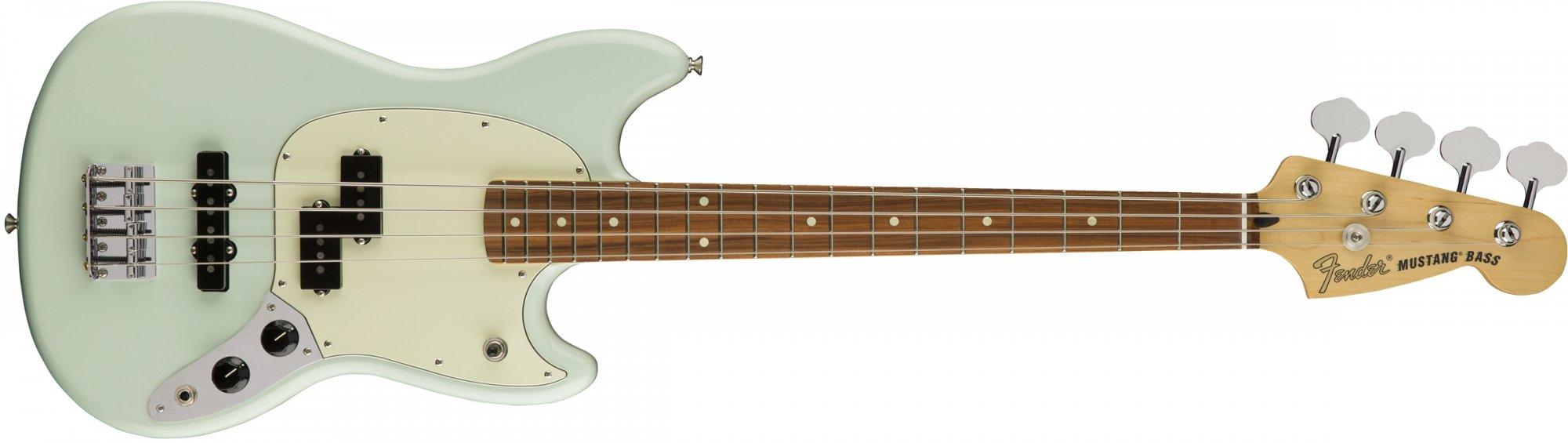 Fender Mustang Bass PJ PF SBL