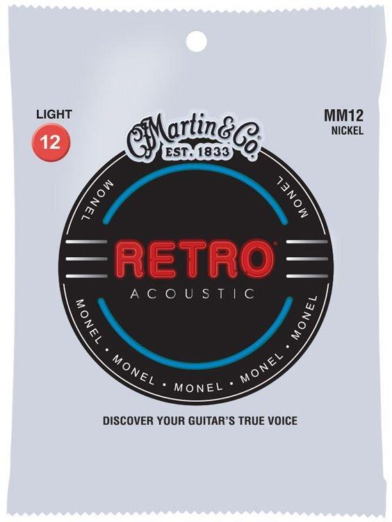 Martin Strings MM12 Light Monel