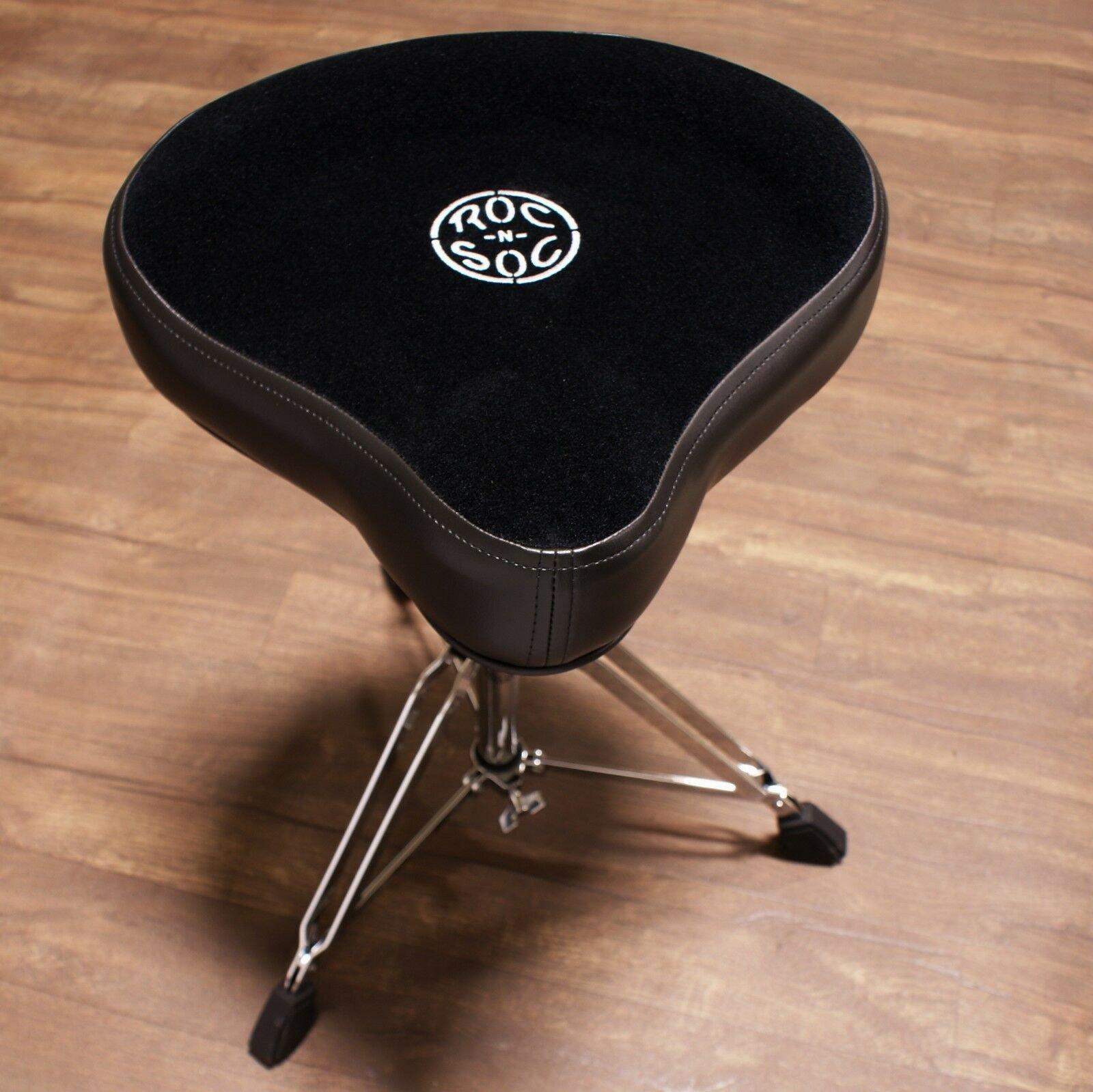 Roc-N-Soc MS Drum Throne Hugger Black
