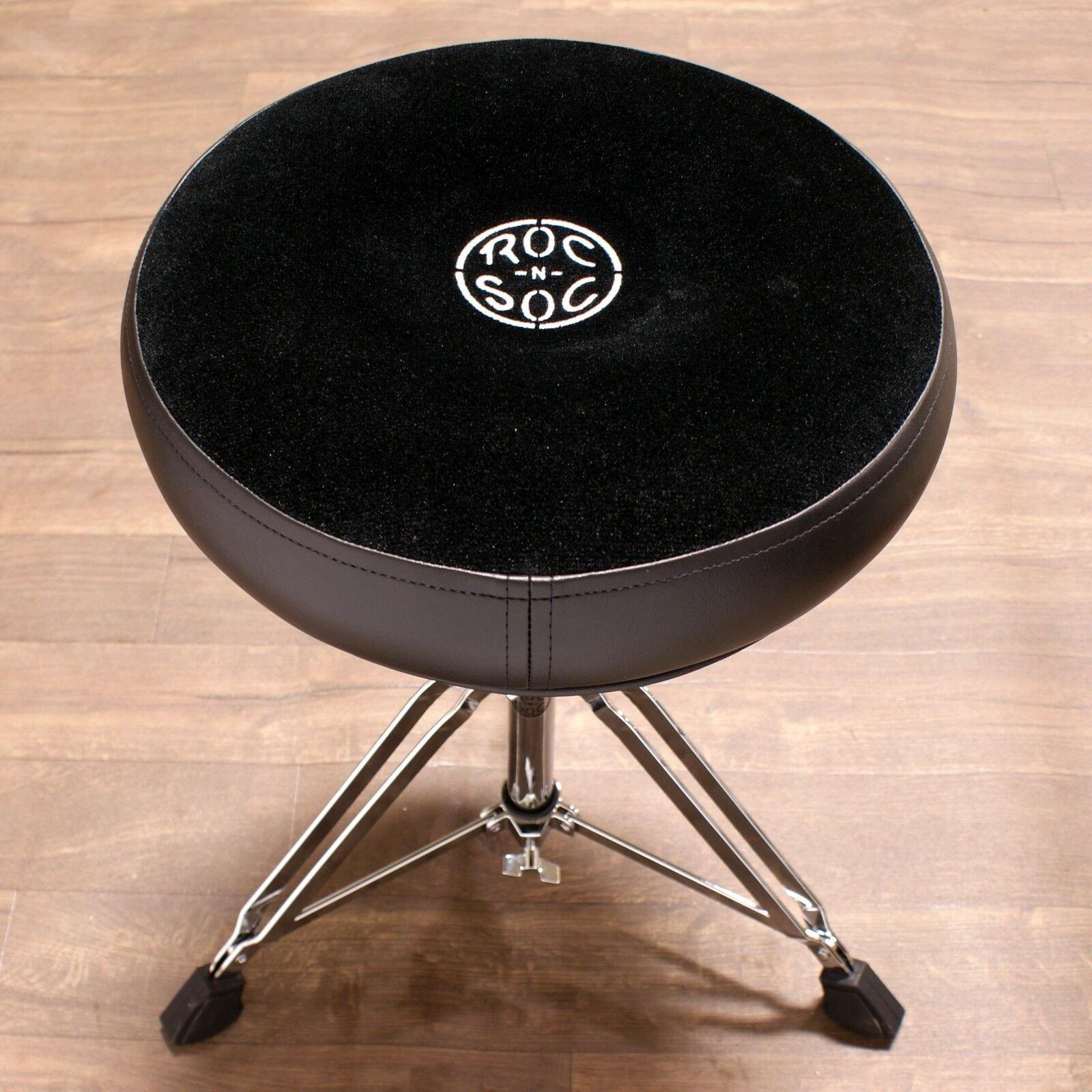 Roc-N-Soc MS Drum Throne Round Black