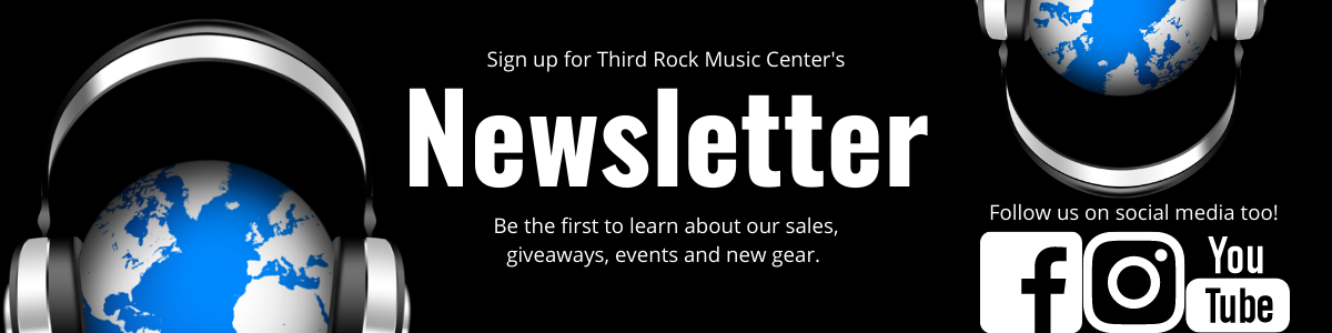 Signup for Third Rock Music Center's Newsletter