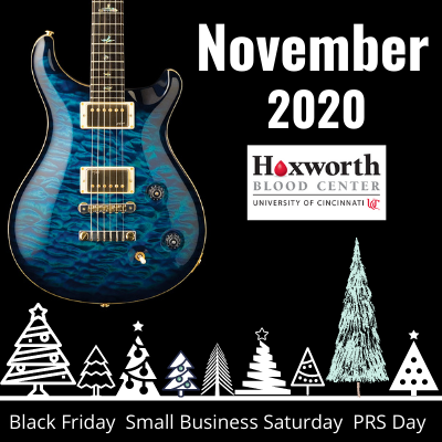 Third Rock Music's November 2020 Newsletter. Learn about Black Friday, Small Business Saturday and Paul Reed Smith Day.