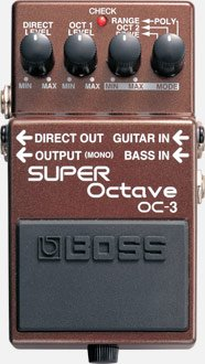 Boss OC-3 Octave Pedal