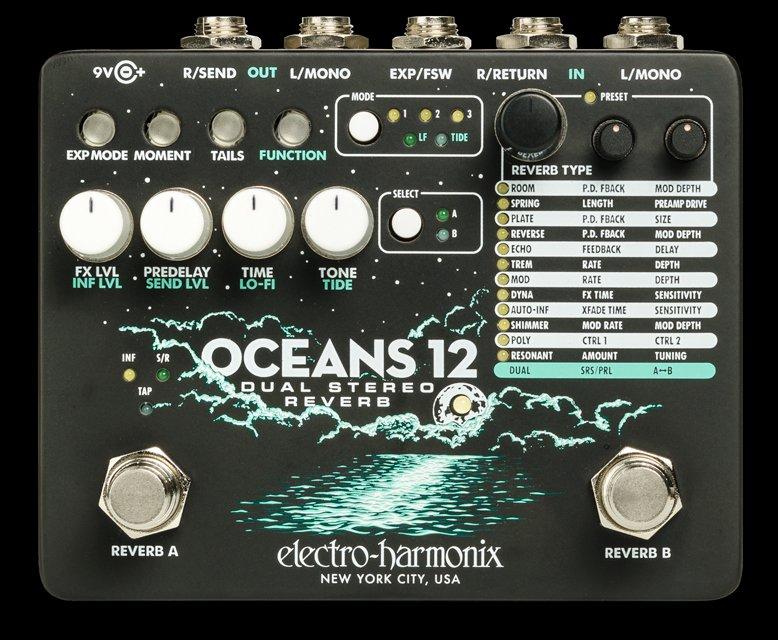 Electro-Harmonix Oceans 12 Reverberant  Pedal