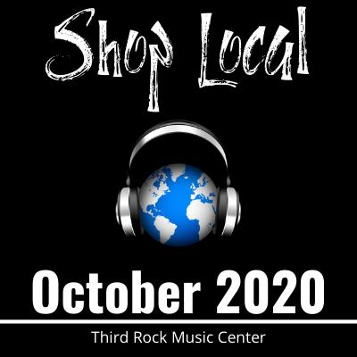 Third Rock Music Center's October 2020 Newsletter. Shop local!