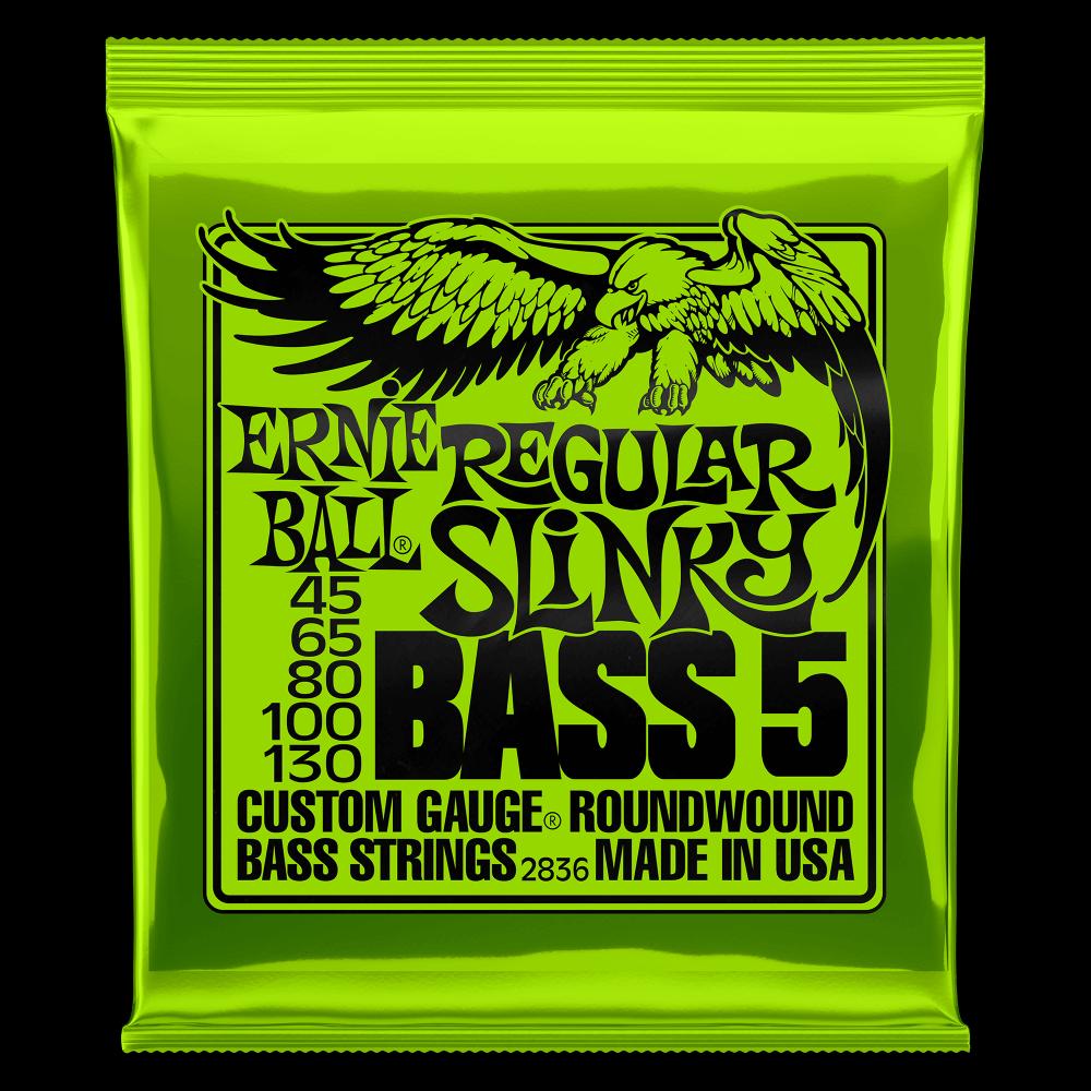 Reg Slinky 5 string Regular 45-130