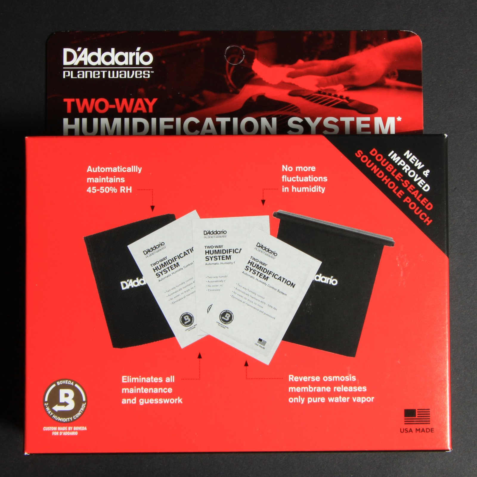 two way humidification system