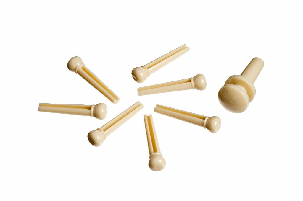 Bridge Pins, Ivory Colored Set of 7