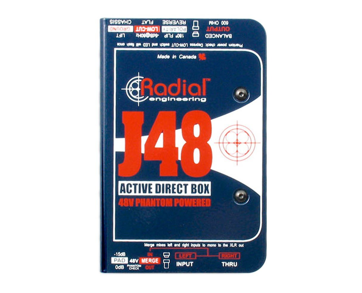 J48 Active Direct Box