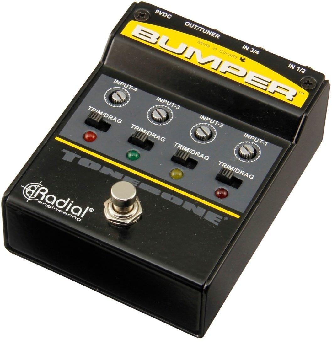 Bumber 4 input Selector Pedal