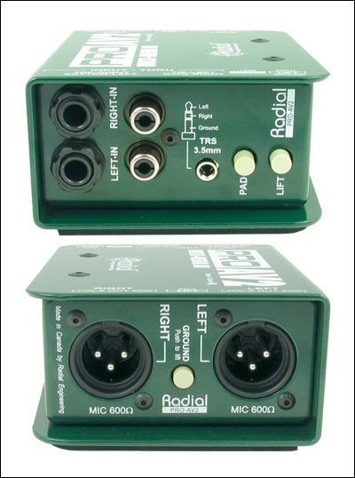 Used Radial AV2 Multi-Media DI Box