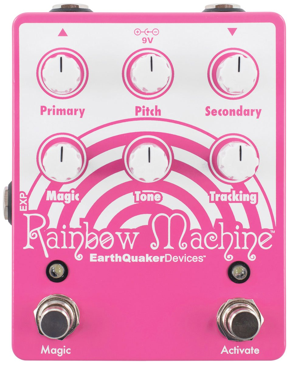 Rainbow Machine Polyphonic Pitch Mesmerizer