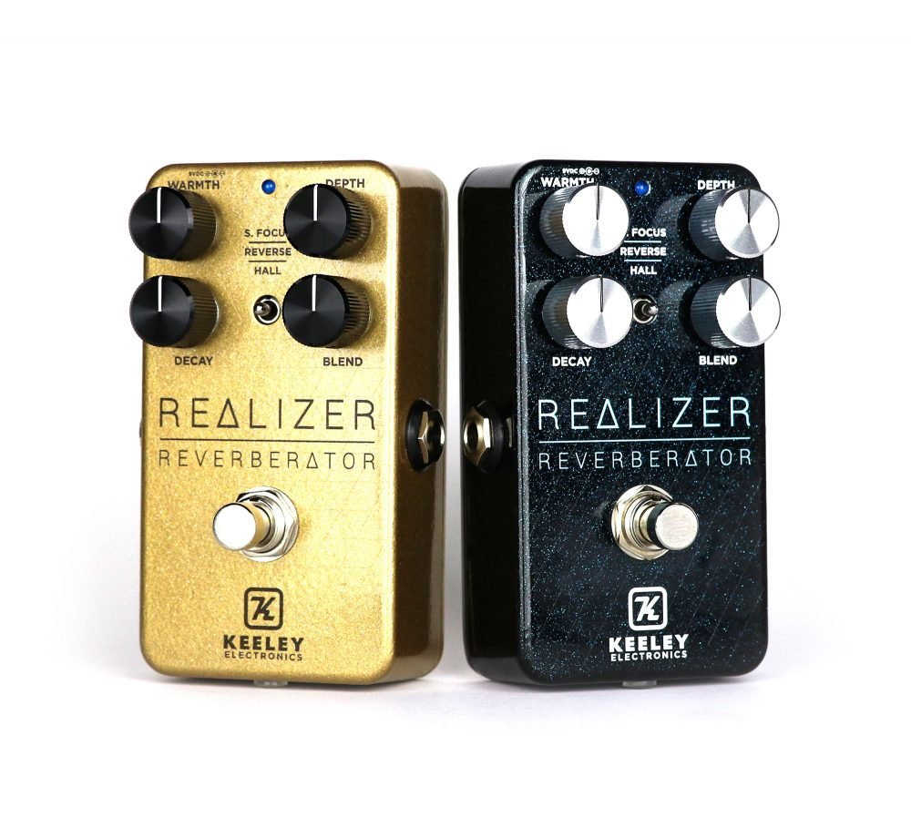 Keeley Realizer Reverberator GOLD