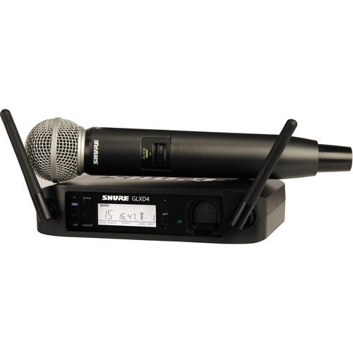 GLX4D Sm58 Handheld Wirless Microphone System