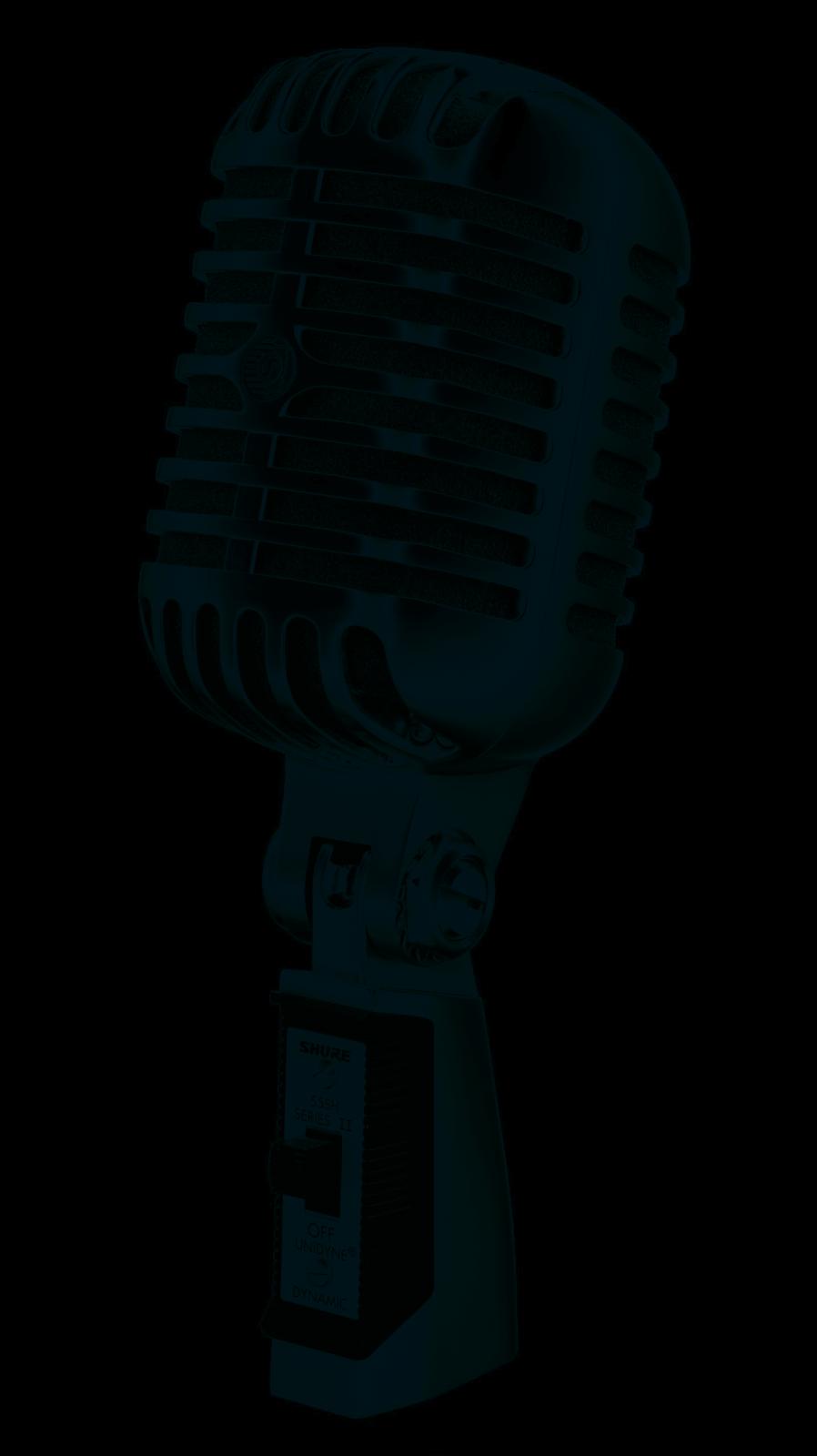 55SH Vintage Style Elvis Microphone