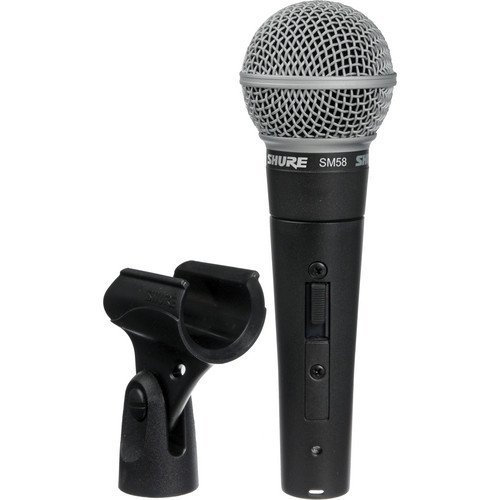 SM58S Unidirectional Microphone w Switch